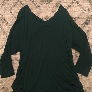 Old navy v-neck/off shoulder long sleeve maternity